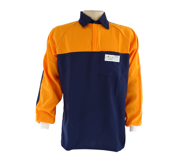 b3a33a48e8 camisa-florestal-azul-e-laranja-tecmater